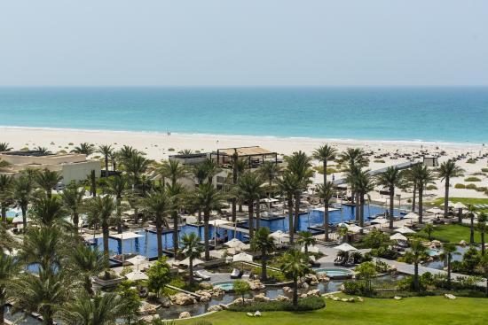 Park Hyatt Abu Dhabi Hotel & Villas: Aerial Resort View