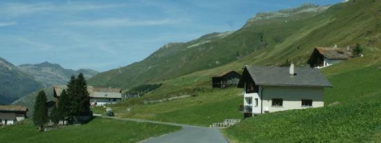 Cresta, Sveits: Sommer
