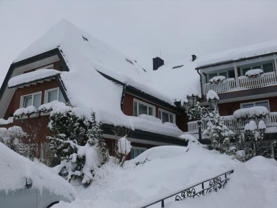 Hotel Reppert: Hotel im Winterkleid