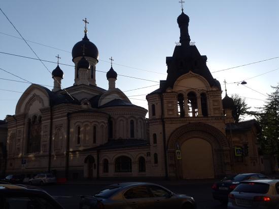 Церковь Казанской иконы Божией Матери подворья Валаамского монастыря
