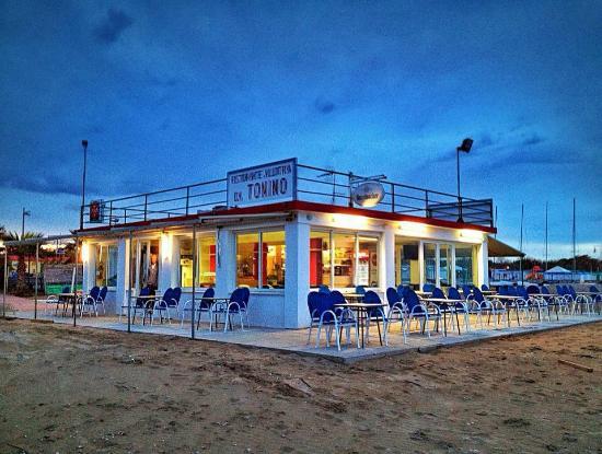 Ristorante Allotria da Tonino - Foto di Bagni Malibu - Beach Club ...