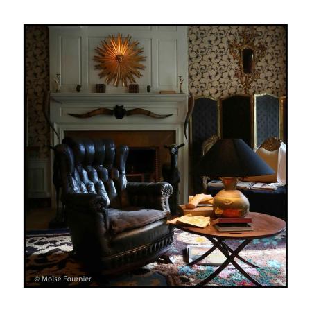 Maison de Jean Cocteau: Un détail du salon