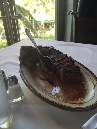 Wolfgang's Steakhouse: ステーキ