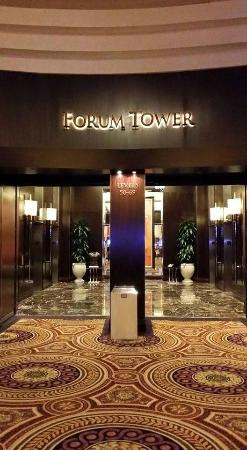 Entrance to Forum Tower Picture of Caesars Palace Las