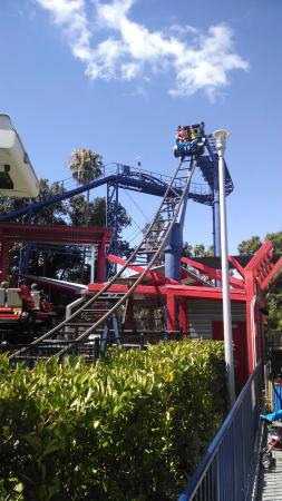 Legoland Florida Resort Lego Technic Test Track Roller Coaster
