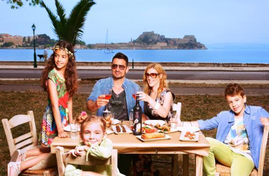 Family Eating Outside Family Eating Outside ...