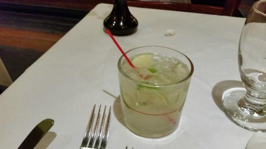 Via Brasil Restaurant: caipirinha