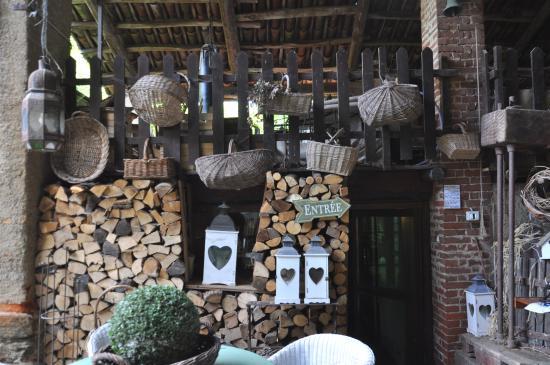 La reception foto di bed and breakfast il giardino dei - Il giardino dei semplici manta ...