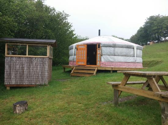 Mid Wales Tipis: The camp!