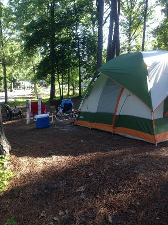 Campsite Picture Of Stone Mountain Family Campground Stone