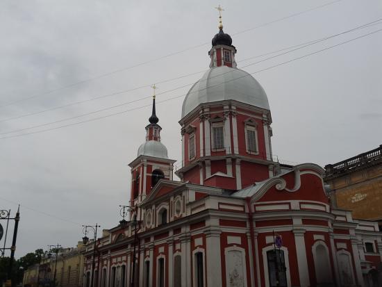 Church of the St Panteleimon: Вид на церковь.