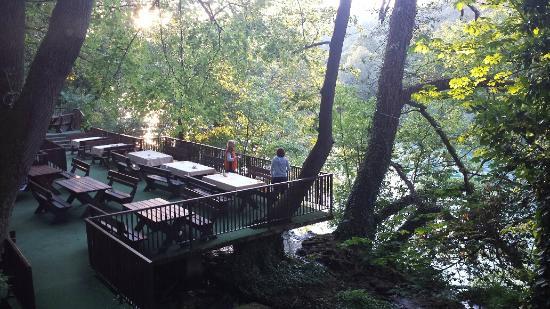 Villa Drina: Restaurant Jezero