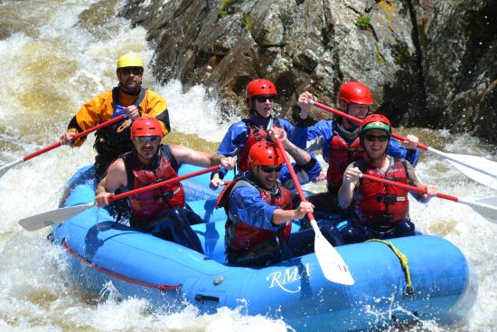 Rocky Mountain Adventures: Rafting with RMA