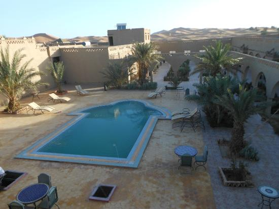 Hotel Nomad Palace: zona de la piscina