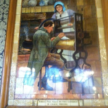 Ceramic tiles of Victorian inventors 4 - Picture of The Cafe Royal ...