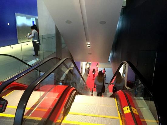 TIFF Bell Lightbox: Escalator