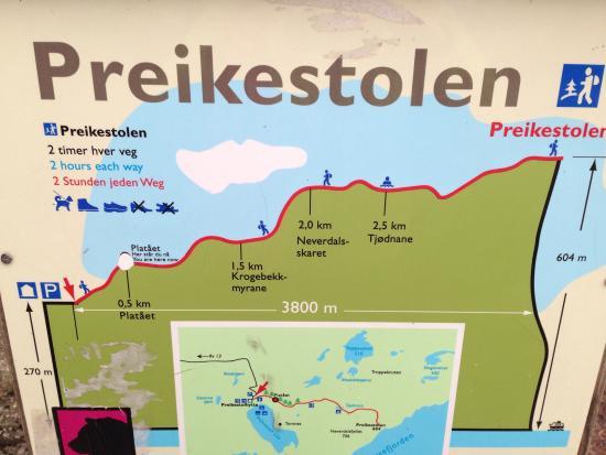 Stavanger, Norway: Mapa del recorrido