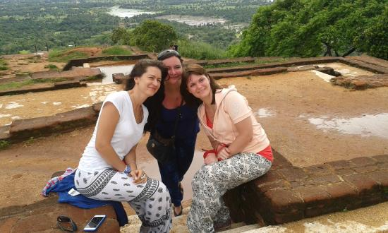 Bentota, Sri Lanka: at Sigiriya