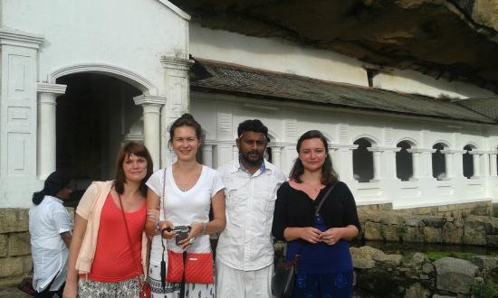 Bentota, Sri Lanka: Dambulla Golden Temple