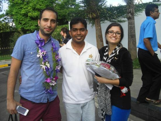 Bentota, ศรีลังกา: Welcoming from VTS Lanka