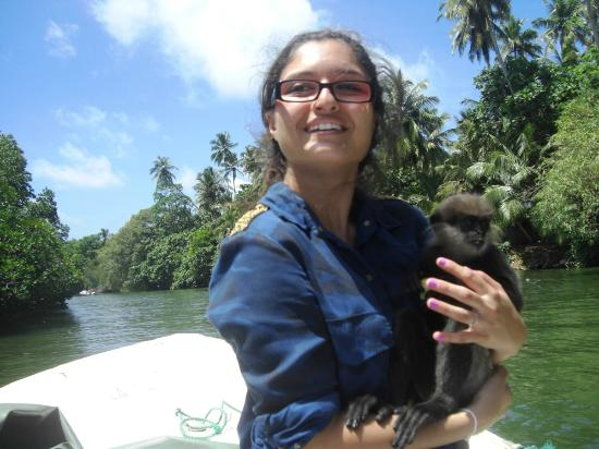 Bentota, ศรีลังกา: at Madu River Safari