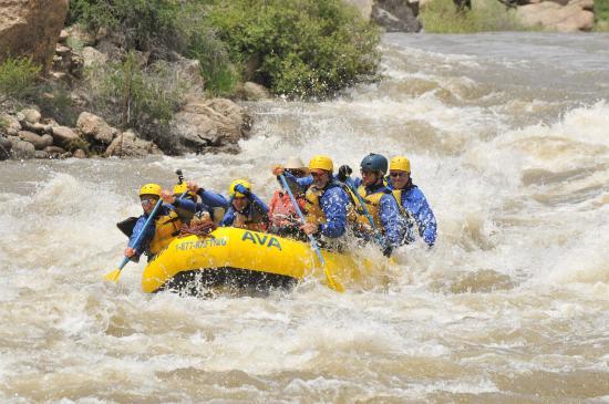 Arkansas Valley Adventures: Arkansas River rafting