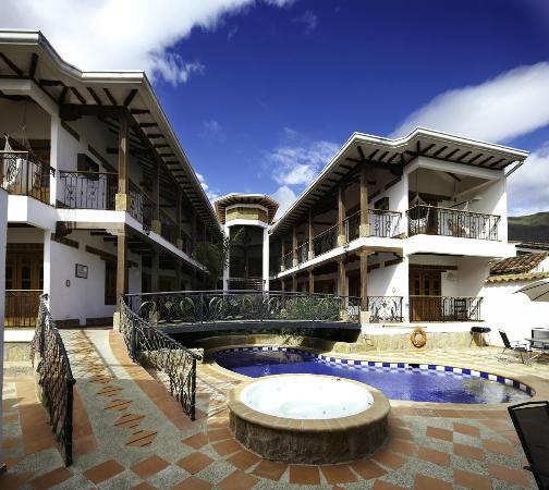 Foto de hotel boutique villa roma villa de leyva zona piscina tripadvisor - Hotel piscina roma ...