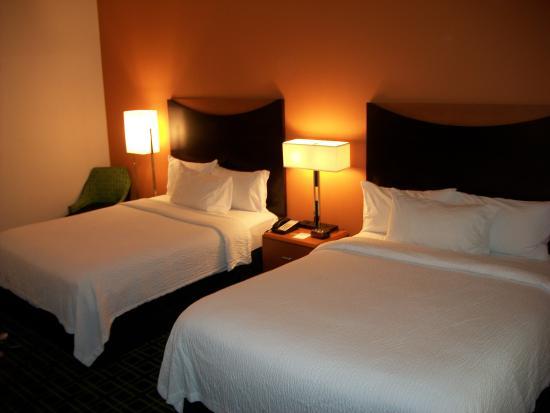 Fairfield Inn & Suites Holiday Tarpon Springs : Queen Guest Room