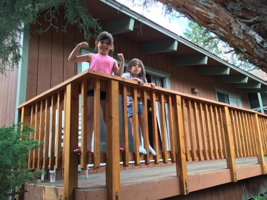 Fern Creek Lodge: Welcoming their weekend
