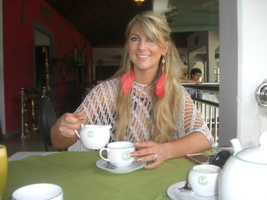 Bentota, Sri Lanka: Enjoy with Sri Lankan Tea