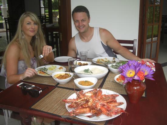 Bentota, Sri Lanka: Lunch