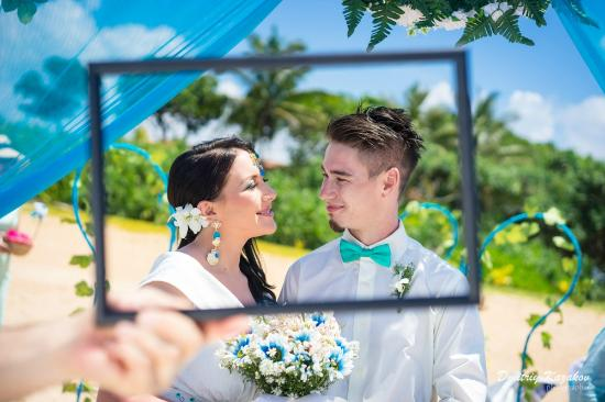 Bentota, Sri Lanka: Beach Wedding
