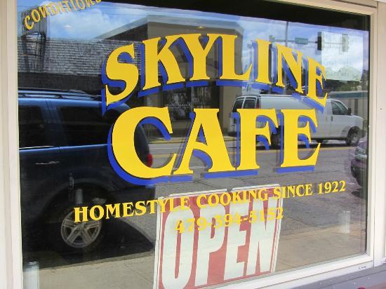skyline cafe mena ar picture of the skyline cafe mena tripadvisor. Black Bedroom Furniture Sets. Home Design Ideas