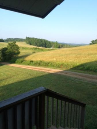 Fancy Gap Cabins & Campground: View from room