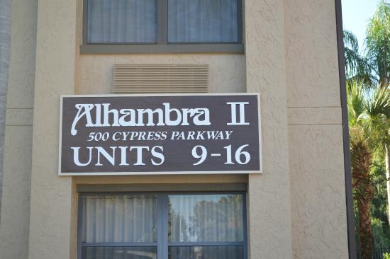 Alhambra at Poinciana: Our unit