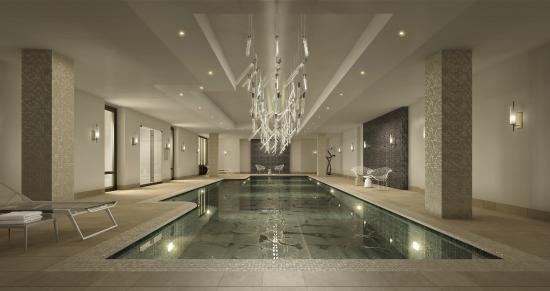 AKA Sutton Place: Sutton Place Pool (images are artists' renderings)