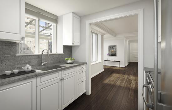 AKA Sutton Place: Sutton Place Kitchen (images are artists' renderings)