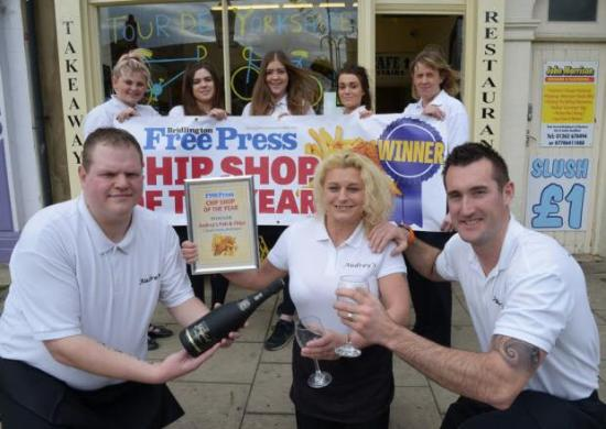 Audrey's Fish & Chips: Chip shop of the year