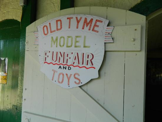 Southsea Model Village: old tyme funfair