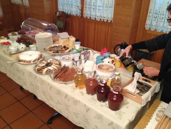 Lokanda Devetak: Breakfast