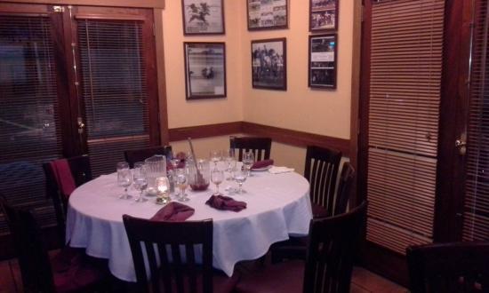 La Fusta Restaurant: Muy buena ambientación del local