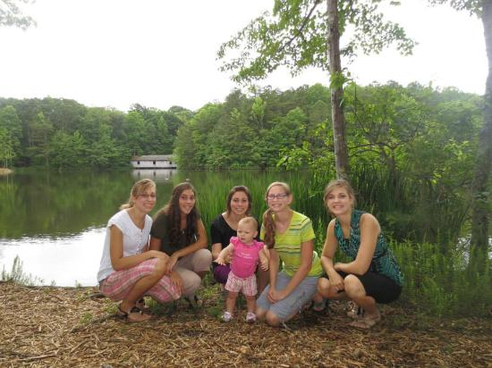 Madison County Nature Trail-Green Mountain : Very peaceful place for a family picnic!