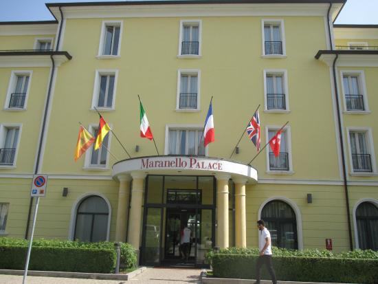 Hotel Maranello Palace Entrée De L