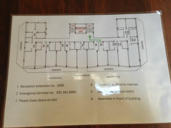 Belaire Suites: Plano de las habitaciones piso 10