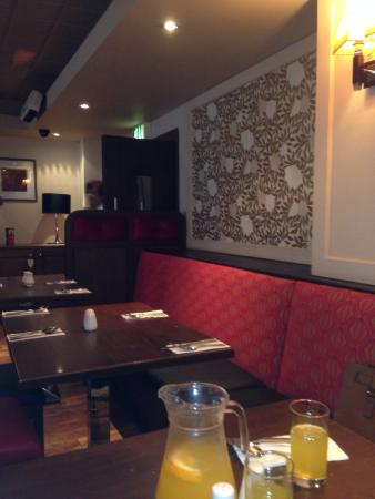 Bar food area picture of seagoe hotel portadown for Food bar belfast