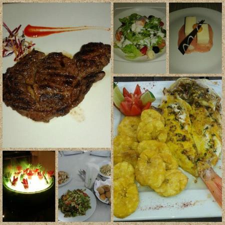 Paradisus Palma Real Golf & Spa Resort: Food
