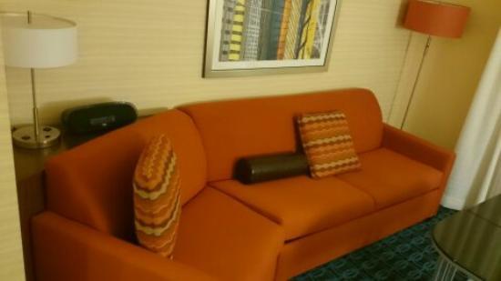 Fairfield Inn & Suites Towanda Wysox: Sitting Area
