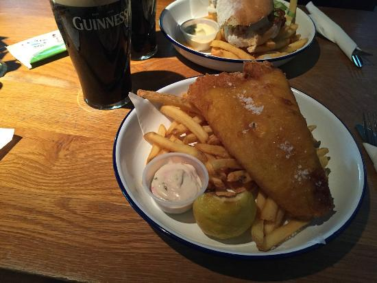 The Garden Terrace: Fish and Chips