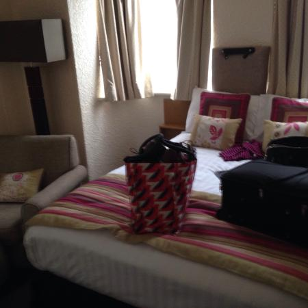 Clifton Court Hotel: Double room