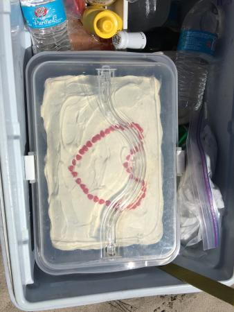 Exodus Wilderness Adventures - Day Tours: Home made cake for our special day!
